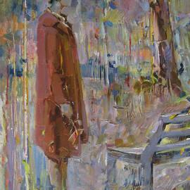 Vasilij Belikov - Woman near a bench