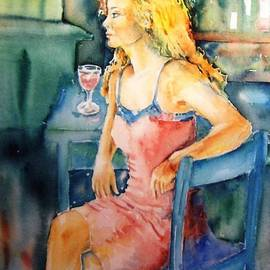 Trudi Doyle - Woman waiting
