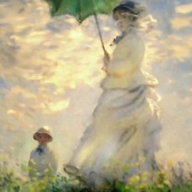 Georgiana Romanovna - Woman With Parasol Dedication