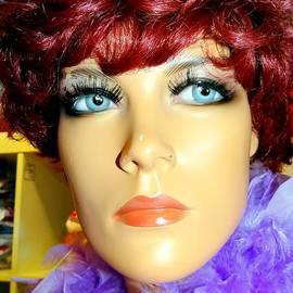 Ed Weidman - Woman With Purple Boa
