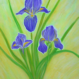 Oksana Semenchenko - Wonderful Iris Flowers. Inspirations Collection.