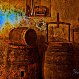 EricaMaxine  Price - Wooden Barrels - Featured in Comfortable Art and Visions of the Night - Digital Veil Groups