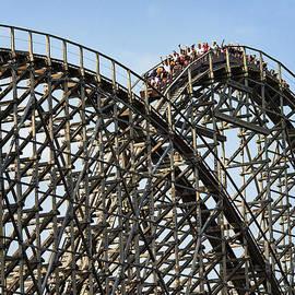 John Greim - Wooden Roller Coaster