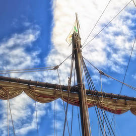 Thomas Woolworth - Wooden Ship Nina Main Mast