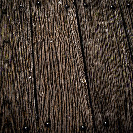 Justin Woodhouse - Woodgrained Planks along the Pier