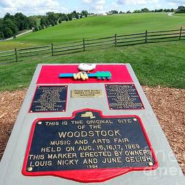 Ed Weidman - Woodstock Plaque