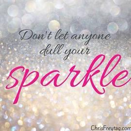 Sarah  Frederick  - #wordstoliveby #sparkle