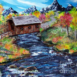 Gloria Koch - Work in progress-Covered Bridge