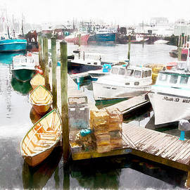 Jeff Folger - Working harbor in Gloucester MA