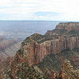 Christiane Schulze Art And Photography - Wotans Thorne Grand Canyon Panorama