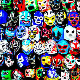 Jim Fitzpatrick - Wrestling Masks of Lucha Libre Altered