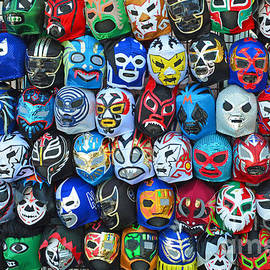 Jim Fitzpatrick - Wrestling Masks of Lucha Libre