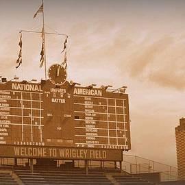 Toni Abdnour - Wrigley Field Scoreboard