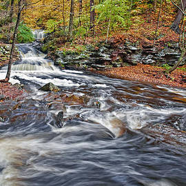 Marcia Colelli - Wyandot Waterfall Where The Waters Meet