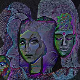 Irmgard Schoendorf Welch -  804 -  Portraits Blue