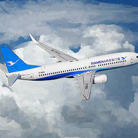 Nop Briex - Xiamen Airlines Boeing 737 800