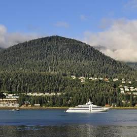 Cathy Mahnke - Yacht in Gastineau Channel