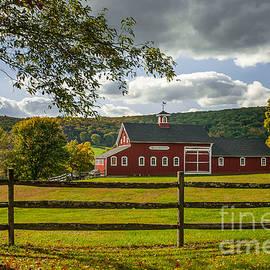 JG Coleman - Yankee Farmlands No 13 - Pasture and Red Barn