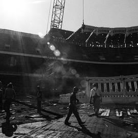 Ross Lewis - 1973 Yankee Stadium Copper Frieze