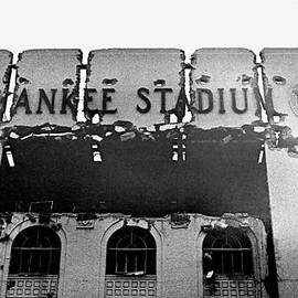 Ross Lewis - Winter 1974 Yankee Stadium Exterior Entrance