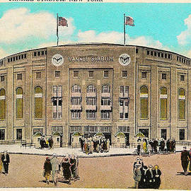 Digital Reproductions - Yankee Stadium Postcard