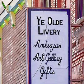 Janice Rae Pariza - Ye Olde Livery Sign
