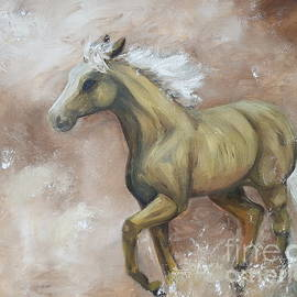 Isabella F Abbie Shores LstAngel Arts - Yearling In Storm