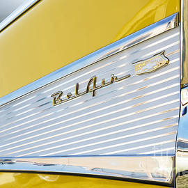 Tim Gainey - Yellow 1957 Chevrolet Bel Air Tail Fin