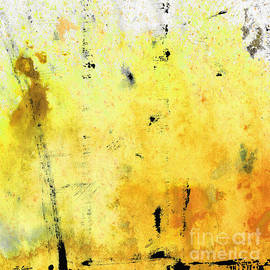 Sharon Cummings - Yellow Abstract Art - Lemon Haze - By Sharon Cummings