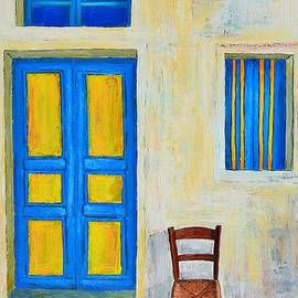 Dimitra Papageorgiou - Yellow and blue
