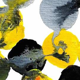 Amy Vangsgard - Yellow and Gray Interactions 3