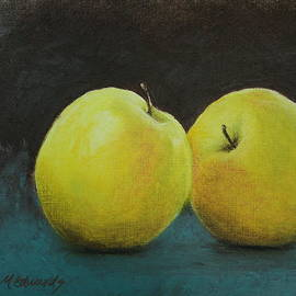 Marna Edwards Flavell - Yellow Apples