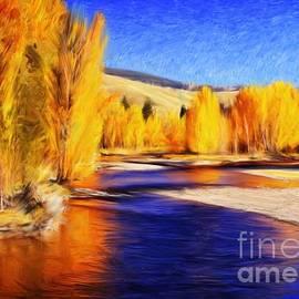 Joseph J Stevens - Yellow Bend in the River II