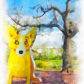 Steve Harrington - Yellow Blue Dog 2