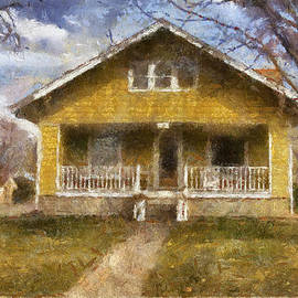 Thomas Woolworth - Yellow Bungalow Porch Photo Art 02