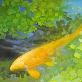Robert Conway - Yellow Carp in Green