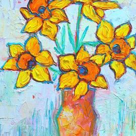 Ana Maria Edulescu - Yellow Daffodils