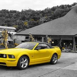 Dan Sproul - Yellow Mustang