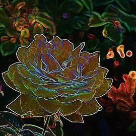 Lorna Kay - Yellow Neon Rose