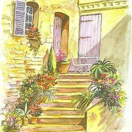 Carol Wisniewski - Yellow Steps