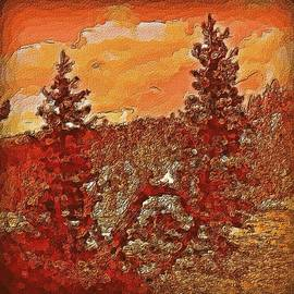 Lisa Holland-Gillem - Yellowstone Aflame in Color
