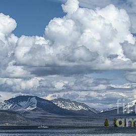 Sandra Bronstein - Yellowstone Lake Cloudscape