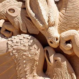 Laura Duhaime - Ying Yang Sand Castle