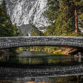Wes and Dotty Weber - Yosemite Bridge Reflection D2032