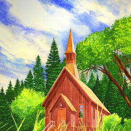 Douglas Castleman - Yosemite Chapel