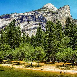 Bob and Nadine Johnston - Yosemite Valley along Yosemite River Beach