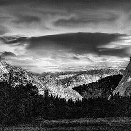 Bob and Nadine Johnston - Yosemite Valley Black and White