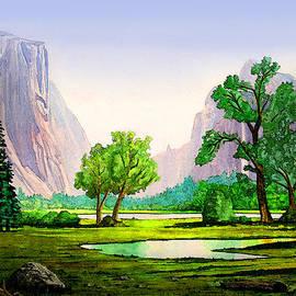 Douglas Castleman - Yosemite Valley in the Afternoon