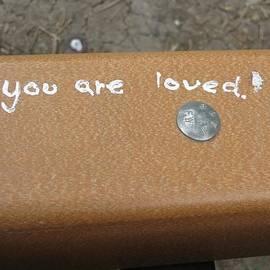 Manuel Matas - You Are Loved graffiti