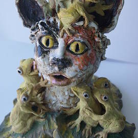 Susan Brown    Slizys art signature name - You have to kiss a lot of frogs before you find your prince